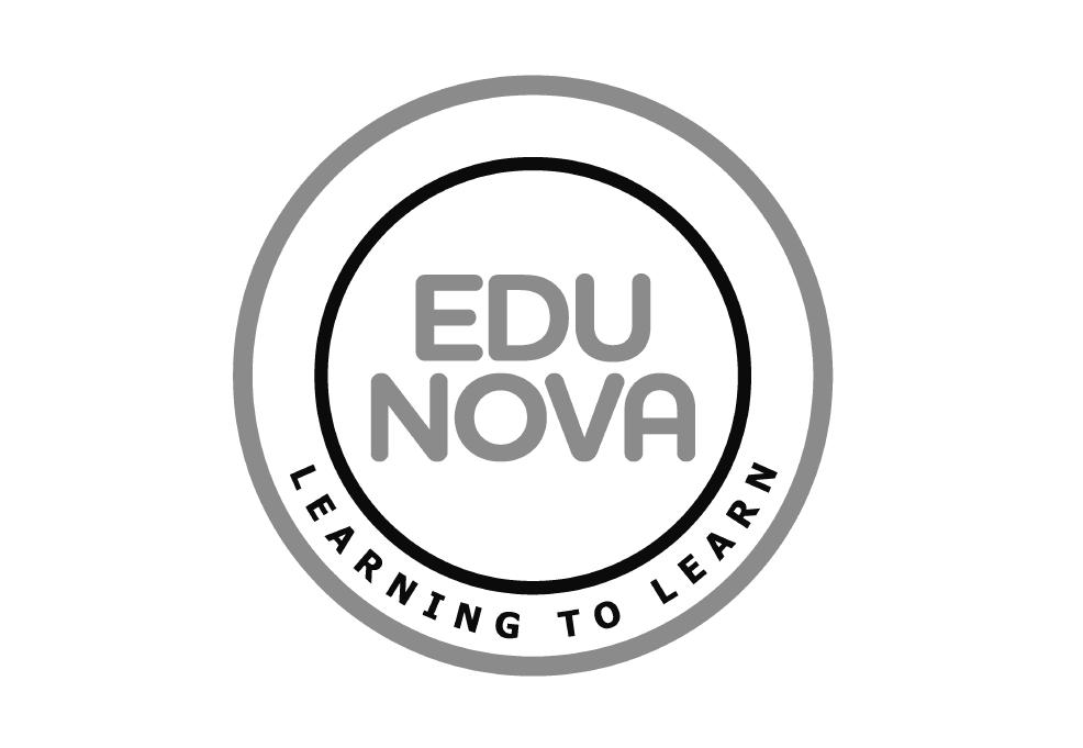 edunova logo black and white