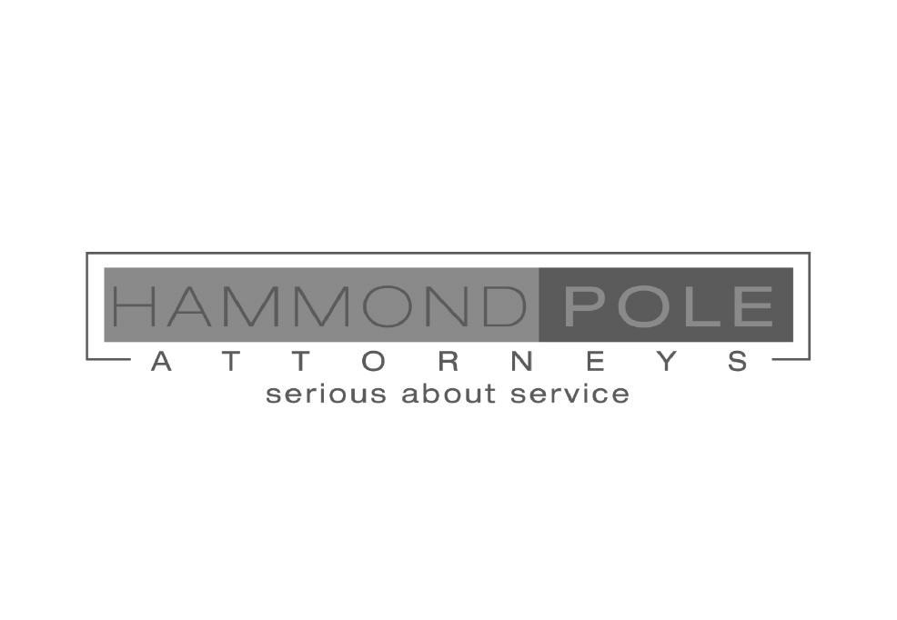 hammond pole black and white