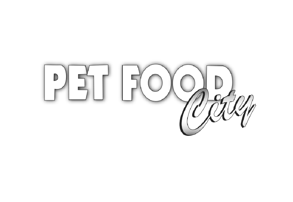 pet food city black and white